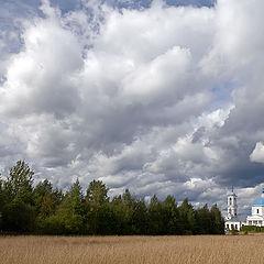 """photo """"Church in Vseluki."""""""