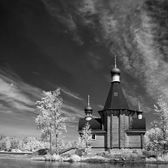 """фото """"Церквушка на острове ИК(репост)"""""""