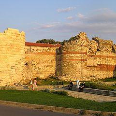 """photo """"Nessebar - Western fortress wall"""""""