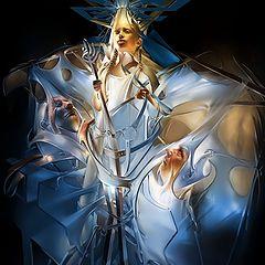 "photo ""Valkiriya... (""The painting of light - Symbols..."")"""