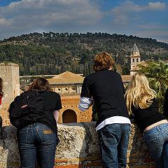 "photo ""From Alhambra of Granada"""