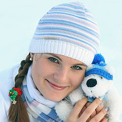 "фото ""Snow girl"""