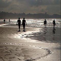 "фото ""Silvery light at seashore..."""