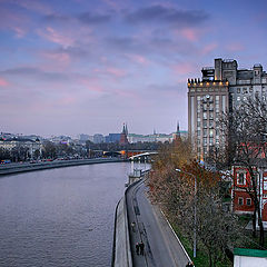 "photo ""The autumn evening. Moscow"""