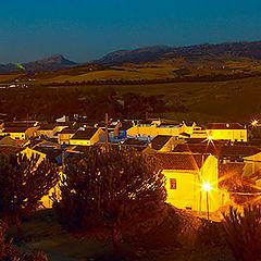 """фото """"Spain night panorama"""""""