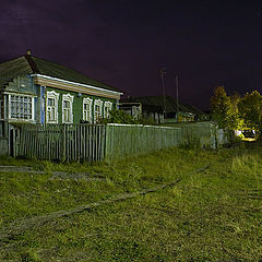 "photo ""Night village"""