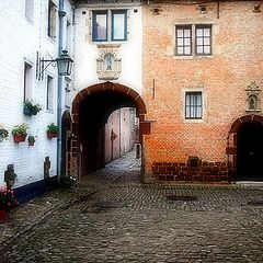"photo ""Beguinage Diest Belgium"""