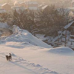 "фото ""Городская  окраина,Раннее утро..."""