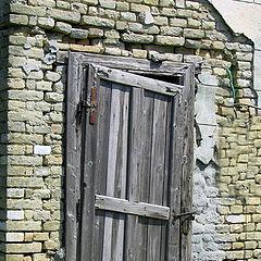 """photo """"The old door"""""""