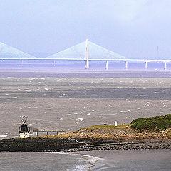 """photo """"The bridges similar to a Mirage"""""""