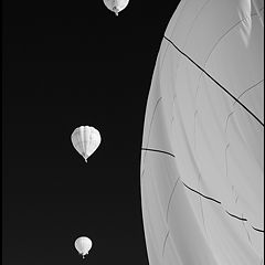 """photo """"Abstract witn balloons/ NO photoshop"""""""