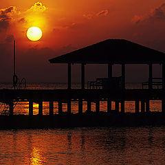 "photo ""Maldivian sunset - The seventh day"""