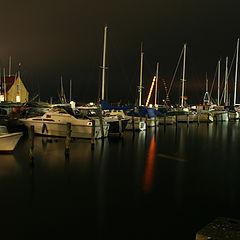"фото ""Boats in nigth"""