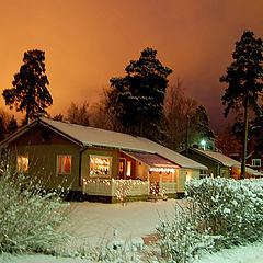 "фото ""Christmas night"""
