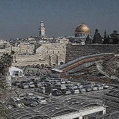 """photo """"Christmas in Jerusalem"""""""