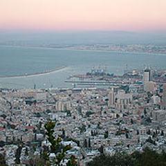 """photo """"This Christmas at Haifa Panorama"""""""
