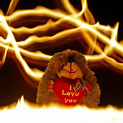 """photo """"the Fire of Love"""""""