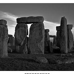 "photo ""Postcard ""Stonehenge:"""