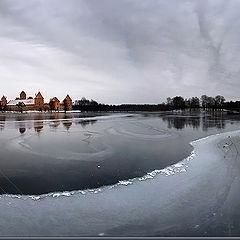 """photo """"Winter in Trakaj."""""""