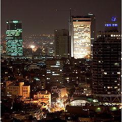 """фото """"Ночной Тель-Авив."""""""
