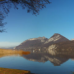 """фото """"The Lake and  the Mountains"""""""
