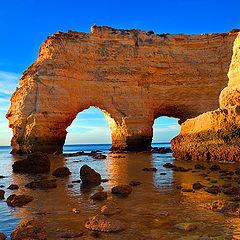 "photo ""Marinha's beach - Algarve - Portugal"""