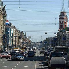 "photo ""NEVSKIY PROSPEKT , St. Petersburg"""