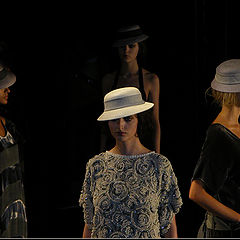 "photo ""Sao Paulo Fashion Week 2008"""