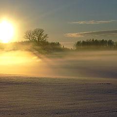 """фото """"... sunset fog"""""""