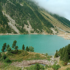 """фото """"Озеро Gaube. Пиринеи. Франция"""""""