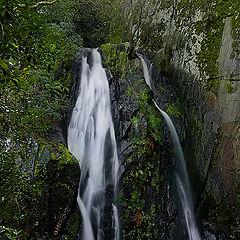 """photo """"Fraga da Pena's waterfall"""""""
