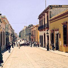 "photo ""Oaxaca street"""