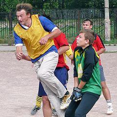 """фото """"Дворовый футбол"""""""
