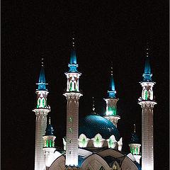 """фото """"Ночная мечеть"""""""