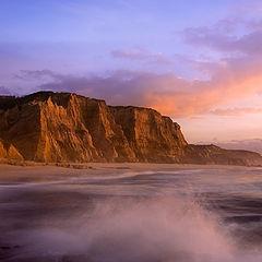 "photo ""Sunset in Vale Furado's Beach - Portugal"""