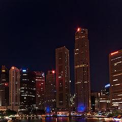 """photo """"Singapura by night"""""""