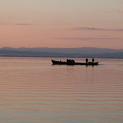 """фото """"На лодке по пастели"""""""