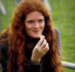 """photo """"nice reddish girl"""""""