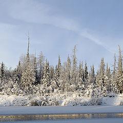 """фото """"замерзающая река"""""""