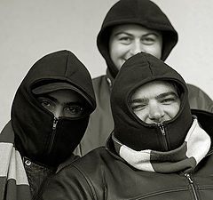 """фото """"Ninjas smiling"""""""