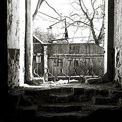 """фото """"Вид из окна в городе партизанской славы"""""""