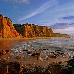 "photo ""Sunset in Vale Furado's Beach#2 - Portugal"""