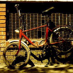 "photo ""bike in the shade"""