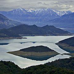 "фото ""Artificial lake Kremasta"""