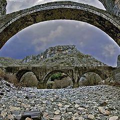 """фото """"The stone bridge of Kokkorou."""""""