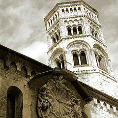 "photo ""ancient churchs in Genoa"""