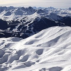 """фото """"Courchevel from Champagny"""""""