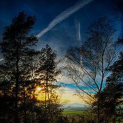 "фото ""закат с видом на Брокен..."""