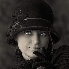 """фото """"Барышня в шляпке"""""""