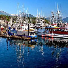 "photo ""Deep Sea Fishing Boats"""